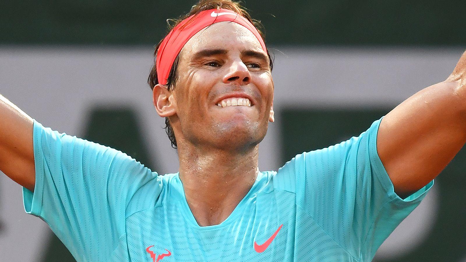 Rafael Nadal defeats Diego Schwartzman to reach French Open final |  Tennis news