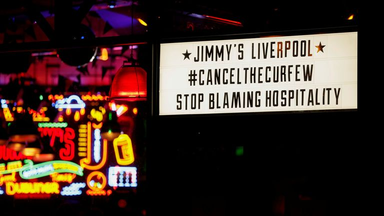 Some places are angry that the hospitality industry is being blamed for the rising number of corona virus cases