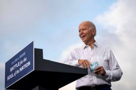 Joe Biden is trying to expand the Democratic election map in the final days