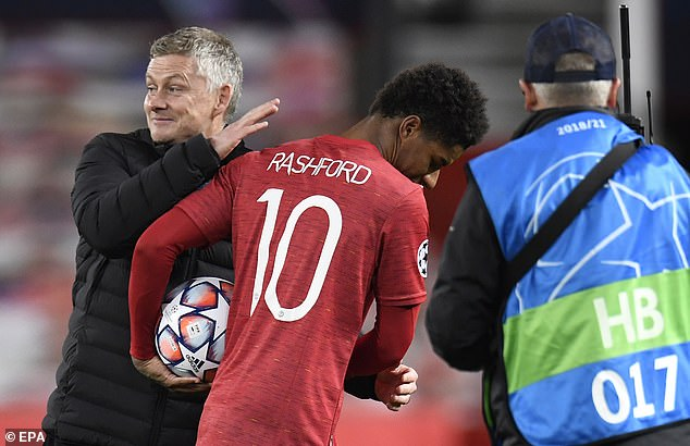 Ole Gunner praised the striker's attention after Soulscare showed his second half