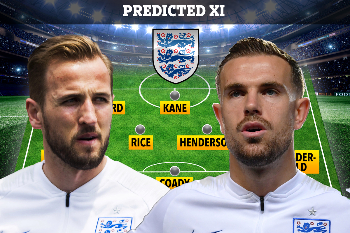 How can England line up for the Nations League clash with Belgium, Harry Kane out and Jordan Henderson return