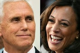 Live updates when Kamala Harris and Mike Pence go live