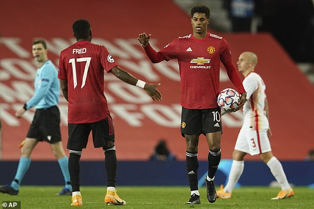 Marcus Rashford comes off the bench to score a hat-trick for Manchester United on Wednesday
