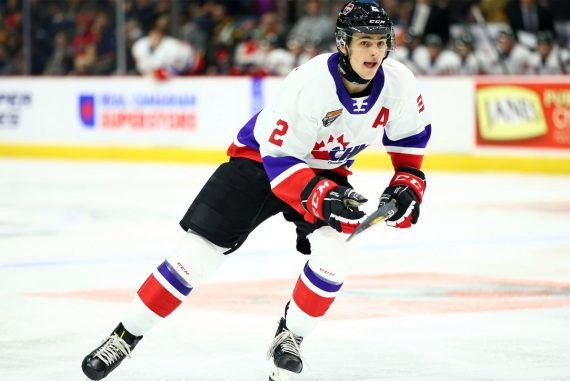 Rangers defender Braden Schneider will be lured after the NHL draft trade