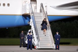 Trump aide Hope Hicks was reportedly in Air Force One with the president before being tested positive for the corona virus.
