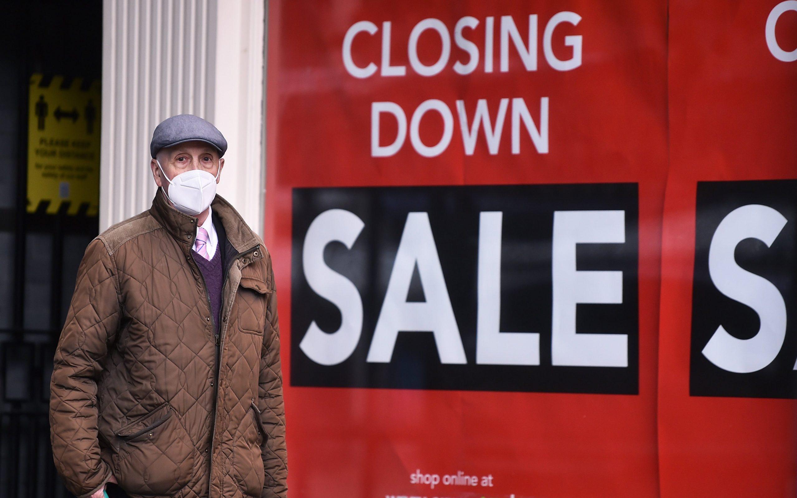 UK store closures amid record corona virus outbreak