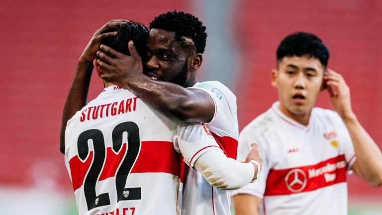 Stuttgart maintained their 100 percent home record in excellent style