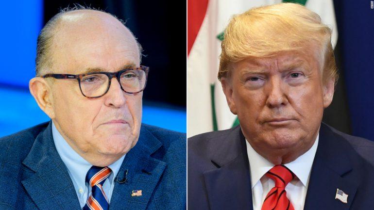 Giuliani representing Trump in the Pennsylvania election case