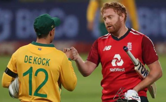 South Africa and England: Johnny Barstow's 86 not out wins by five wickets