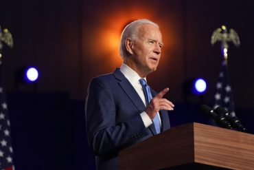 """We're going to win this race,"" Biden says as his lead grows in Pennsylvania and Georgia."