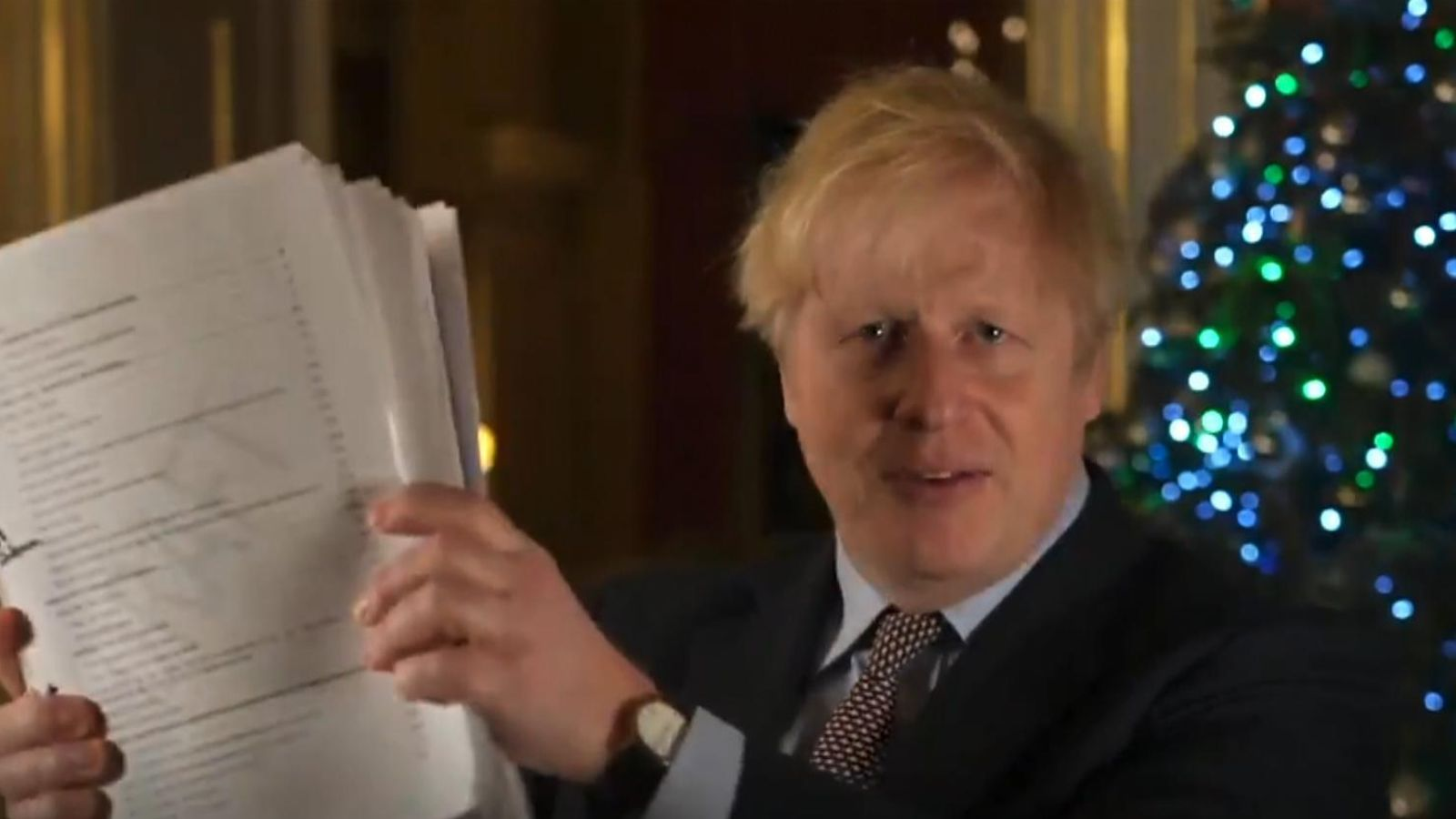 Brexit: Boris Johnson says trade deal is his Christmas gift    UK News