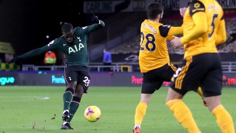 Tottenham Hotspur's Tangu Nompole opens at Molinex