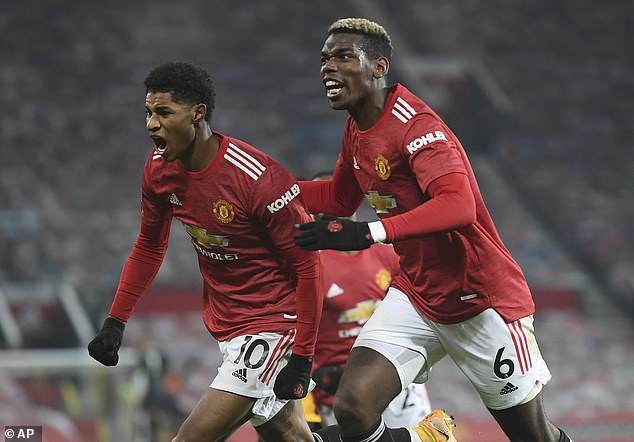 United had their last win over the Wolves on Tuesday to go within two points of Liverpool