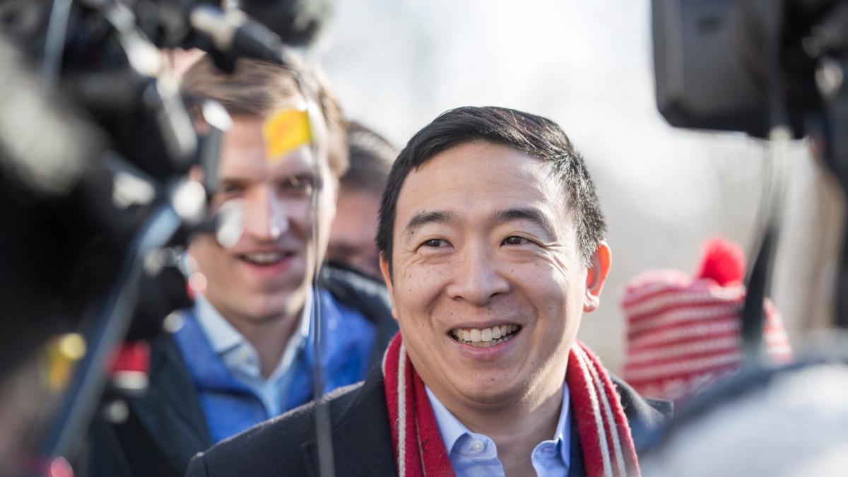 Andrew Yang files to run for mayor of New York City – NBC New York