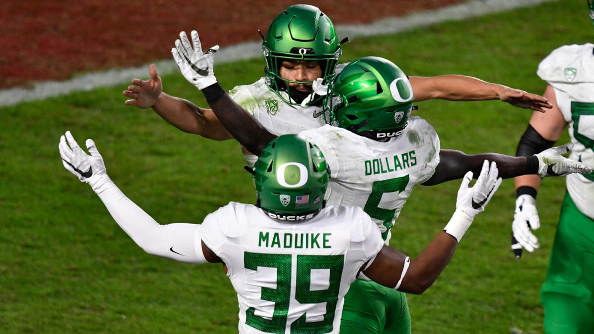 USC vs. Oregon Score, Takeaways: Ducks Claim No. 13 Trojans for Second Straight Pack-12 title