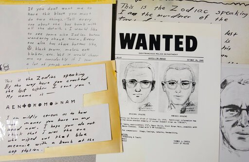 'Zodiac Killer' Cyber Letter Decoded by Experts After 50 Years – Timeline