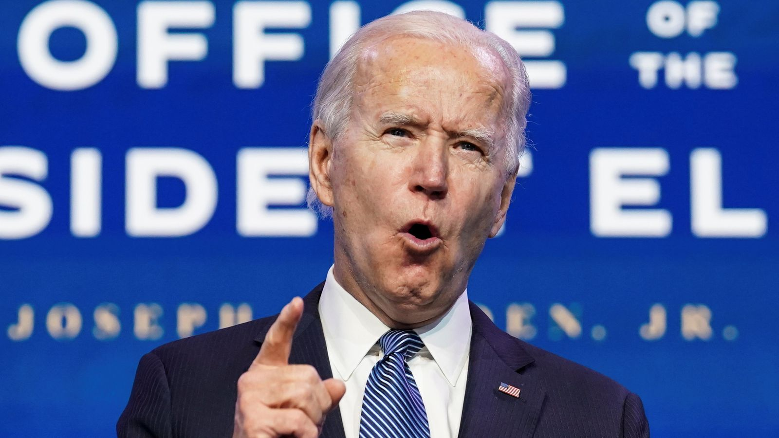 "US Capitol: Joe Biden condemns Donald Trump and the ""gangs"" who stormed the building – ""don't dare call them the protesters"" 
