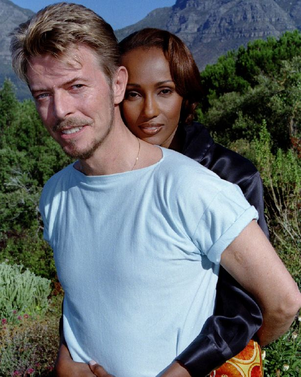 David and Iman were totally loyal to each other