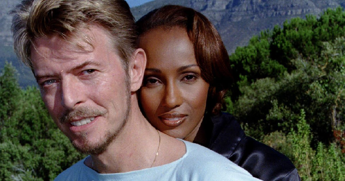 "Courageous Final Days for David Bowie and the post-grave ""mark"" for his grieving wife, Iman"