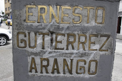Monument to Ernesto Gutierrez