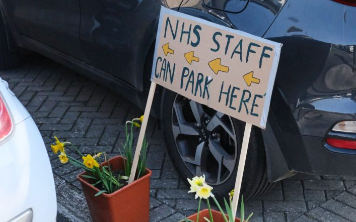 """ Charging NHS employees designated for parking at work is a shame "": staff paid nearly £ 8 million for parking in Greater Manchester hospitals within a year"