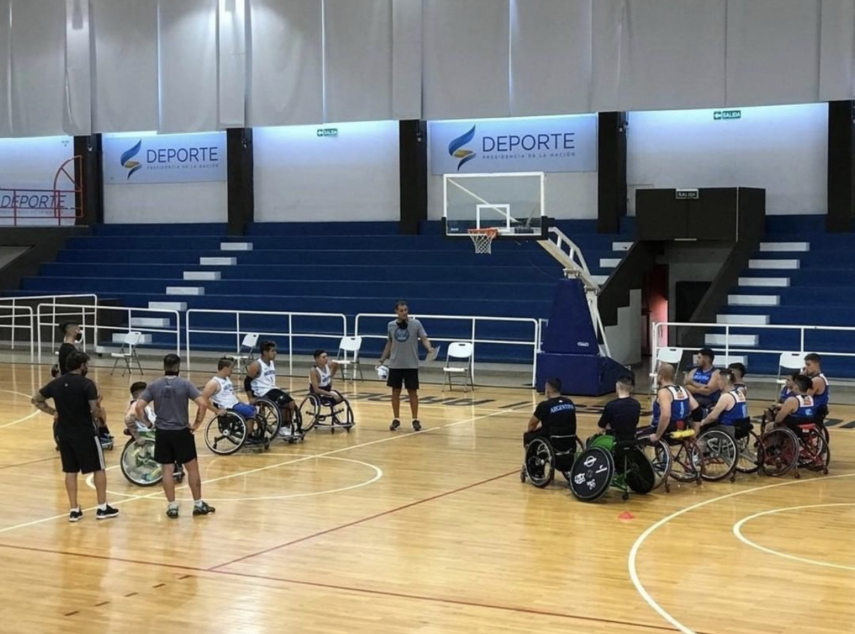 Modified basketball: concentrations of selected wheelchair players