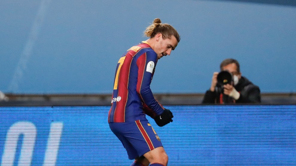 Barcelona 2-3 Athletes |  Supercopa de Espana: The rise in Griezmann's form is not enough