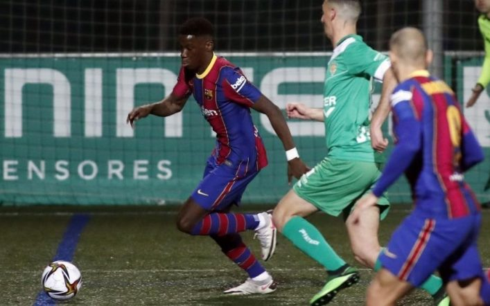 FC Barcelona – La Liga: Elix Moriba: I almost couldn't sleep