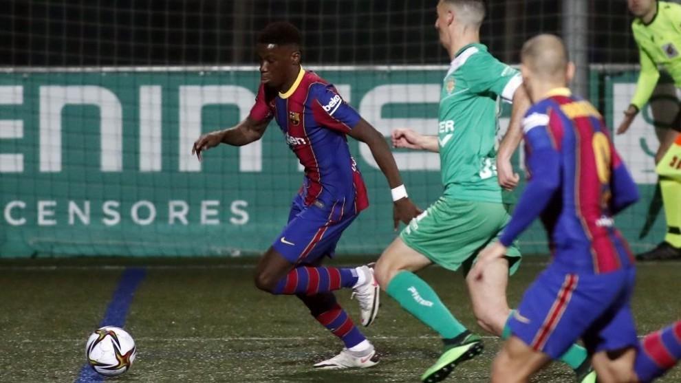 FC Barcelona – La Liga: Elix Moriba: I almost couldn't sleep