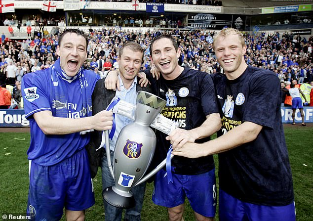 The duo enjoyed years of title-filled glory together when Lampard was a Chelsea midfielder