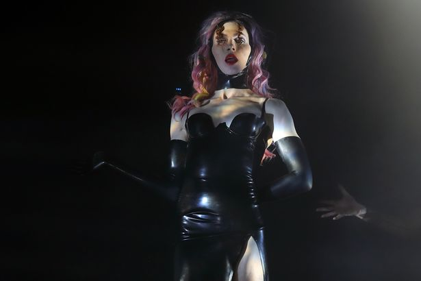 Sophie is on stage in 2018