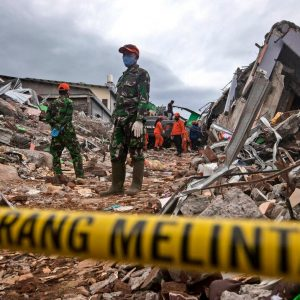 A magnitude 6.2 earthquake in Indonesia kills at least 46