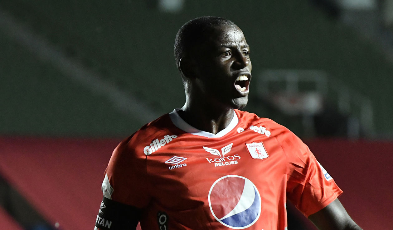America de Cali today: How is the health of striker Adrian Ramos?