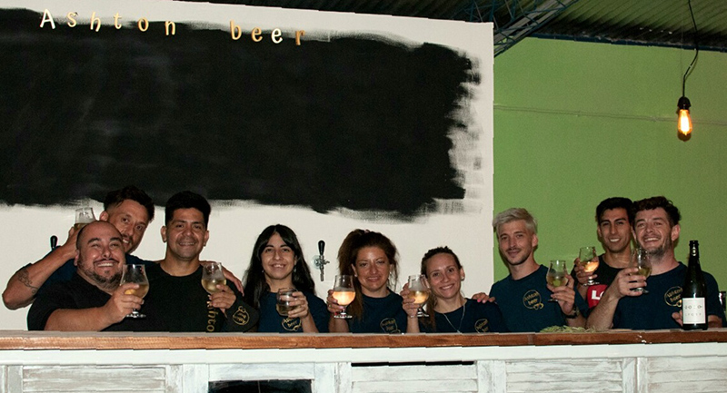 Ashton Beer, a new space, with a different style, to have fun