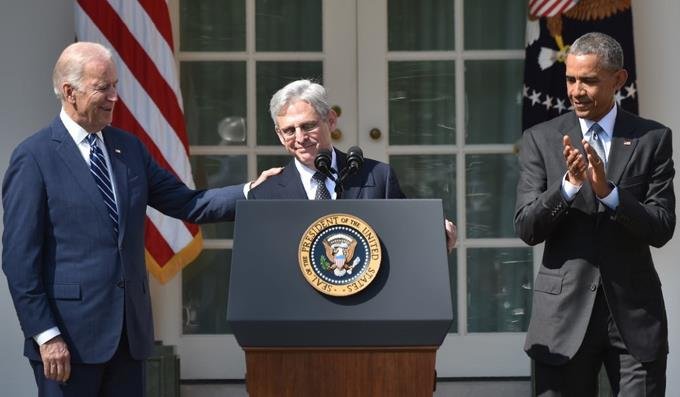 Biden confirms the selection of Merrick Garland as Attorney General