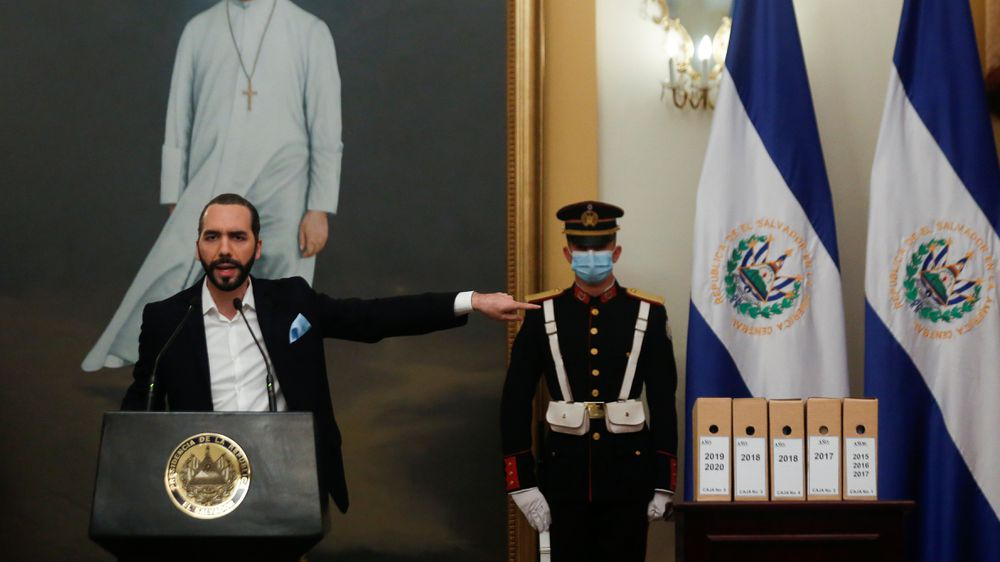 """Bukele raises anger in El Salvador after calling the peace accords a """"farce""""  international"""