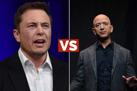 Duel of the Titans: Elon Musk and Jeff Bezos criticize each other for space projects