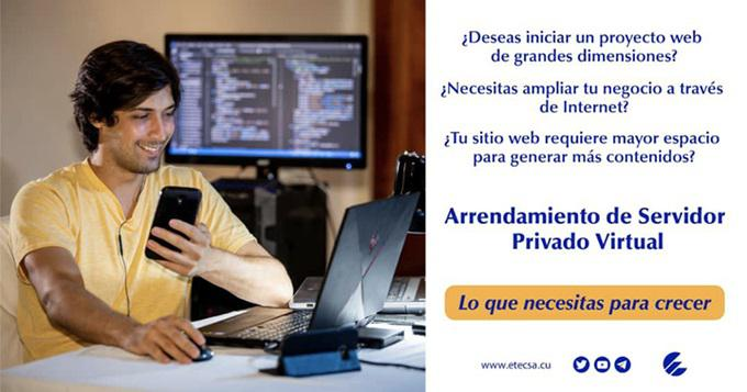 Etecsa offers a new Virtual Private Server Rental Service> Cuba ›Granma
