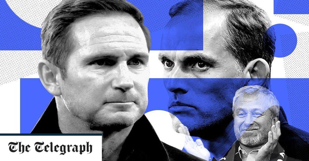 Frank Lampard was sacked from Chelsea with Thomas Tuchel as a substitute