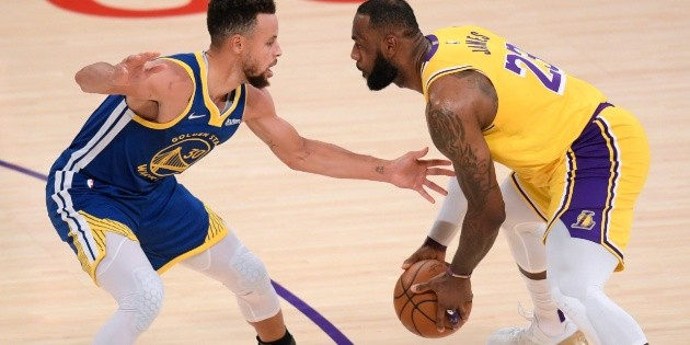 Golden State Warriors – Los Angeles Lakers – Victoria de Carrie Supre LeBron