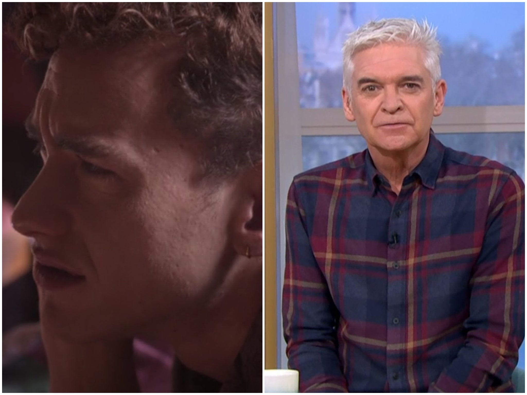 "It's a sin for viewers who are shocked by Philip Schofield's remark on the show: ""It must be just a coincidence."""