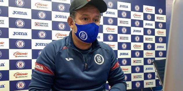 Juan Renoso calls for calm as Cruz Azul swings up in 2021 guard