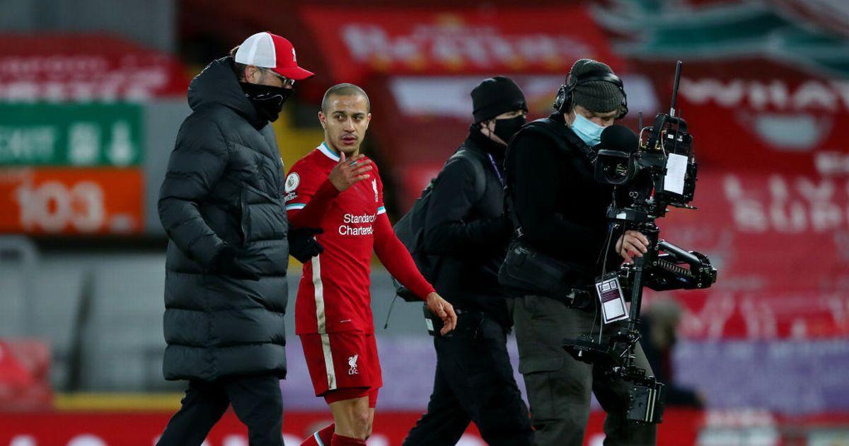 Jurgen Klopp faces a decision by Thiago Alcantara while Liverpool ponders major reforms