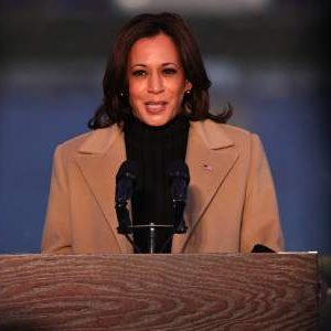 Kamala Harris, who was the first female vice president of the United States
