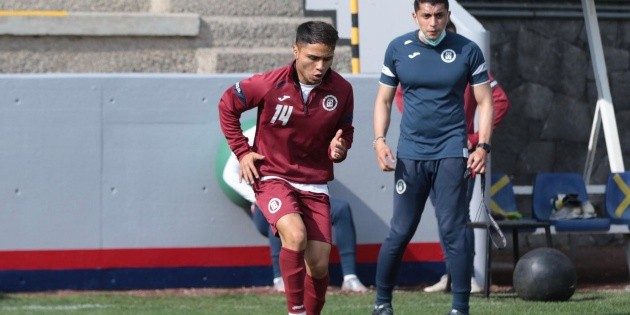 Misael Domínguez requests to acquire Cruz Azul with a great play
