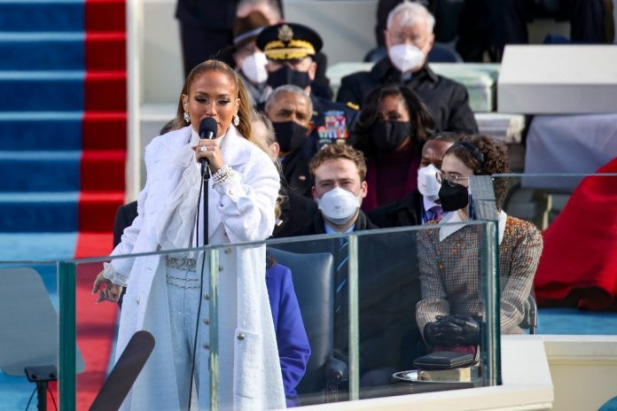 Powerful message from Jennifer Lopez at Joe Biden's inauguration