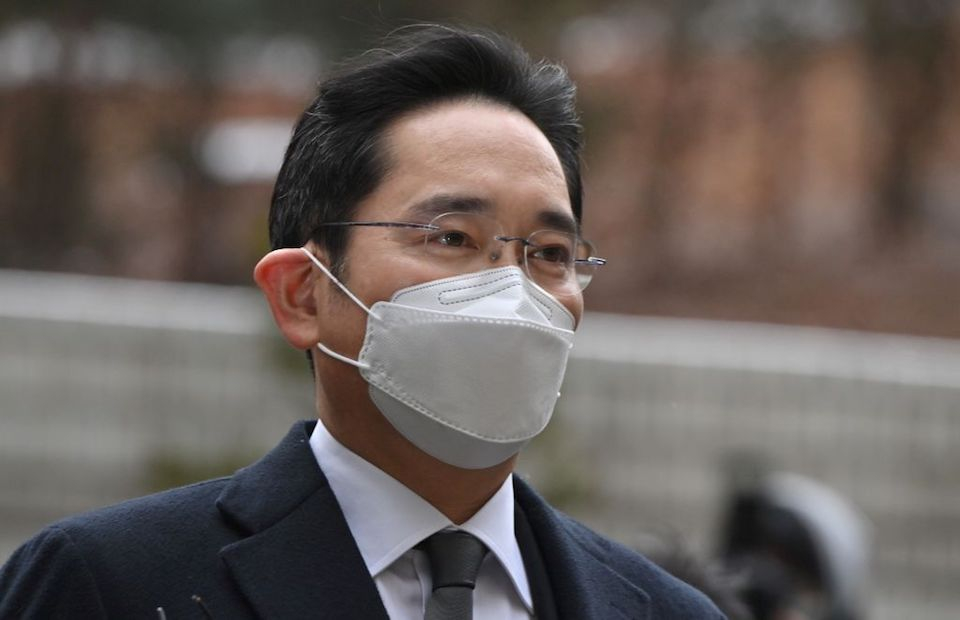 Samsung imprisoned heir for embezzlement and bribery