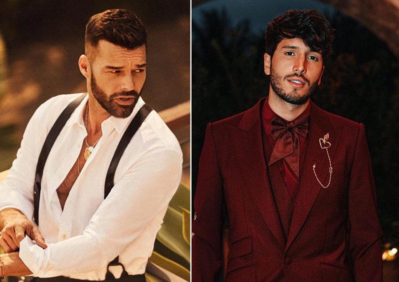 Sebastian Yatra posting a sensual picture and so was Ricky Martin's reaction!