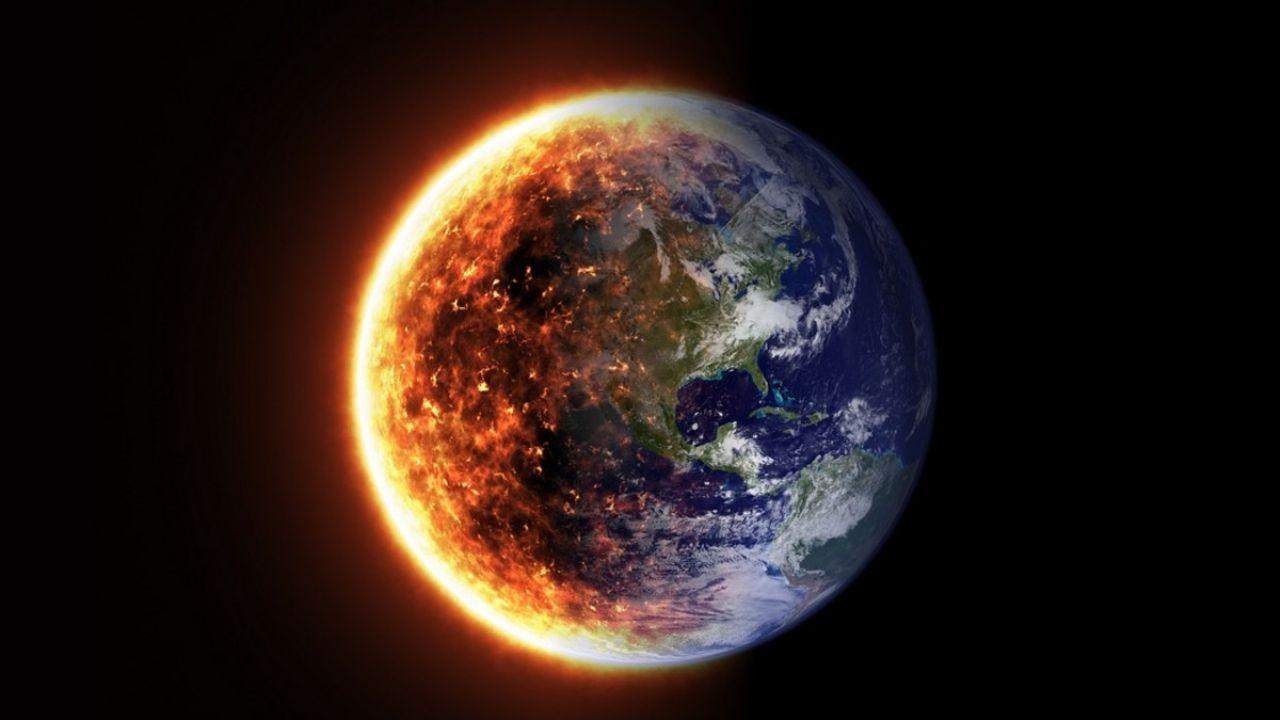Surprise!  Russian astronaut records Orange Hollow around Earth: Video