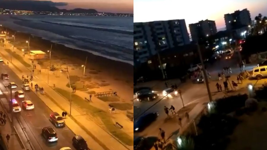'Technical error' that caused panic in Chile: false alarm from tsunami triggered large-scale evacuations in the country |  News from El Salvador